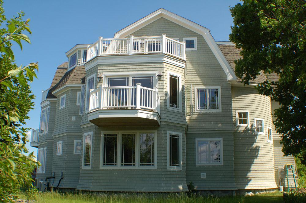 Unique home design, Wells, Maine